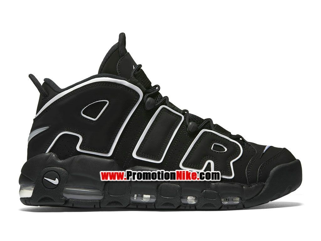 new arrivals 96913 dd8cd Nike Air More Uptempo (Pippen Olympic) Chaussures Nike LifeStyle Pas Cher  Pour Homme Noir Blanc 414962-002
