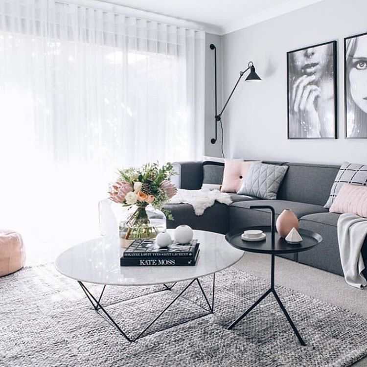 Living Room Ideas Let S Fall In Love With These Marble Coffee Tables Www Livingroomideas Eu Grey Sofa Living Room Gray Living Room Design Living Room Stands
