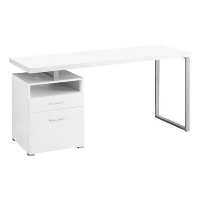 Monarch Specialties White Computer Desk Furniture Desks For