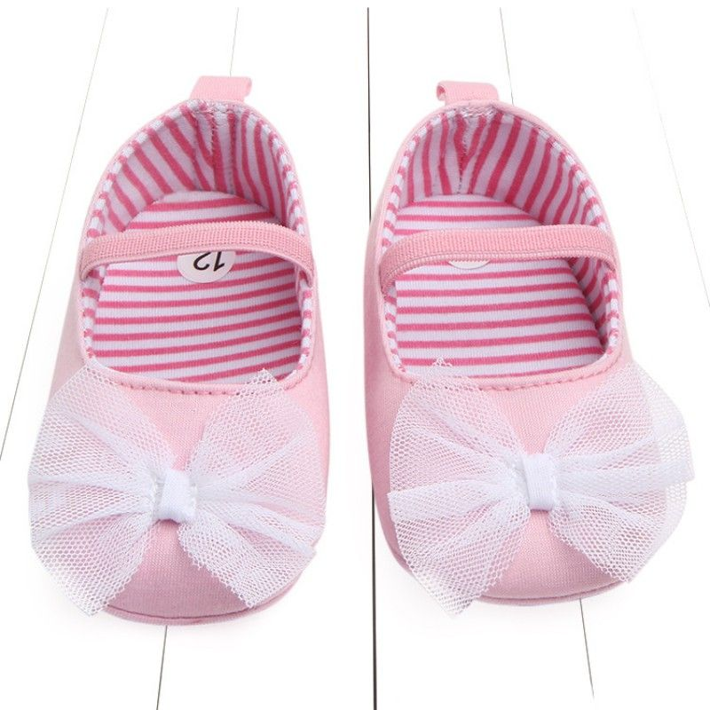 Newborn Baby Soft Sole Crib Shoes Infant Boy Girl Toddler Sneaker anti-dérapant Soft