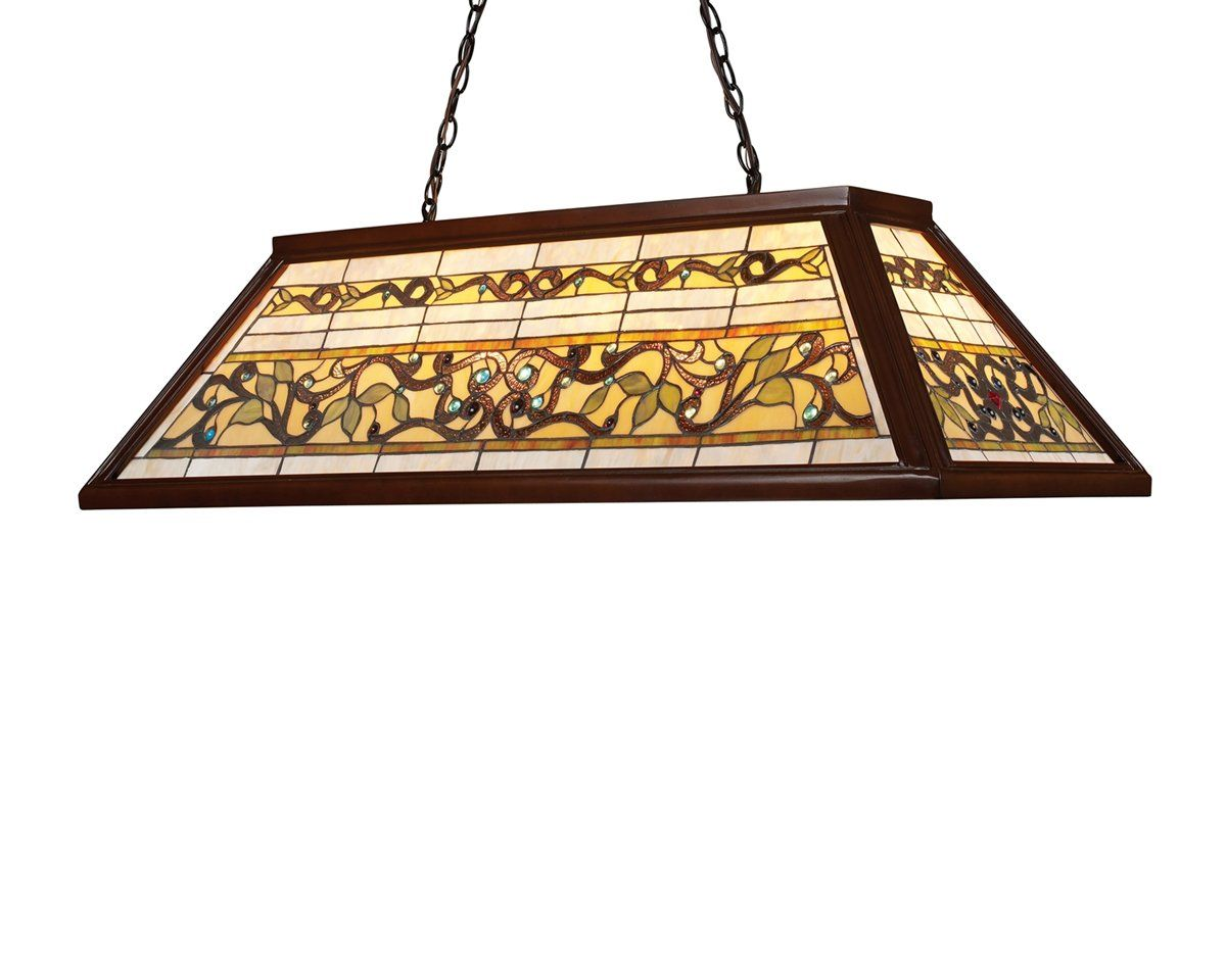 Landmark Lighting 7002 4 Light Tiffany Billiard Large