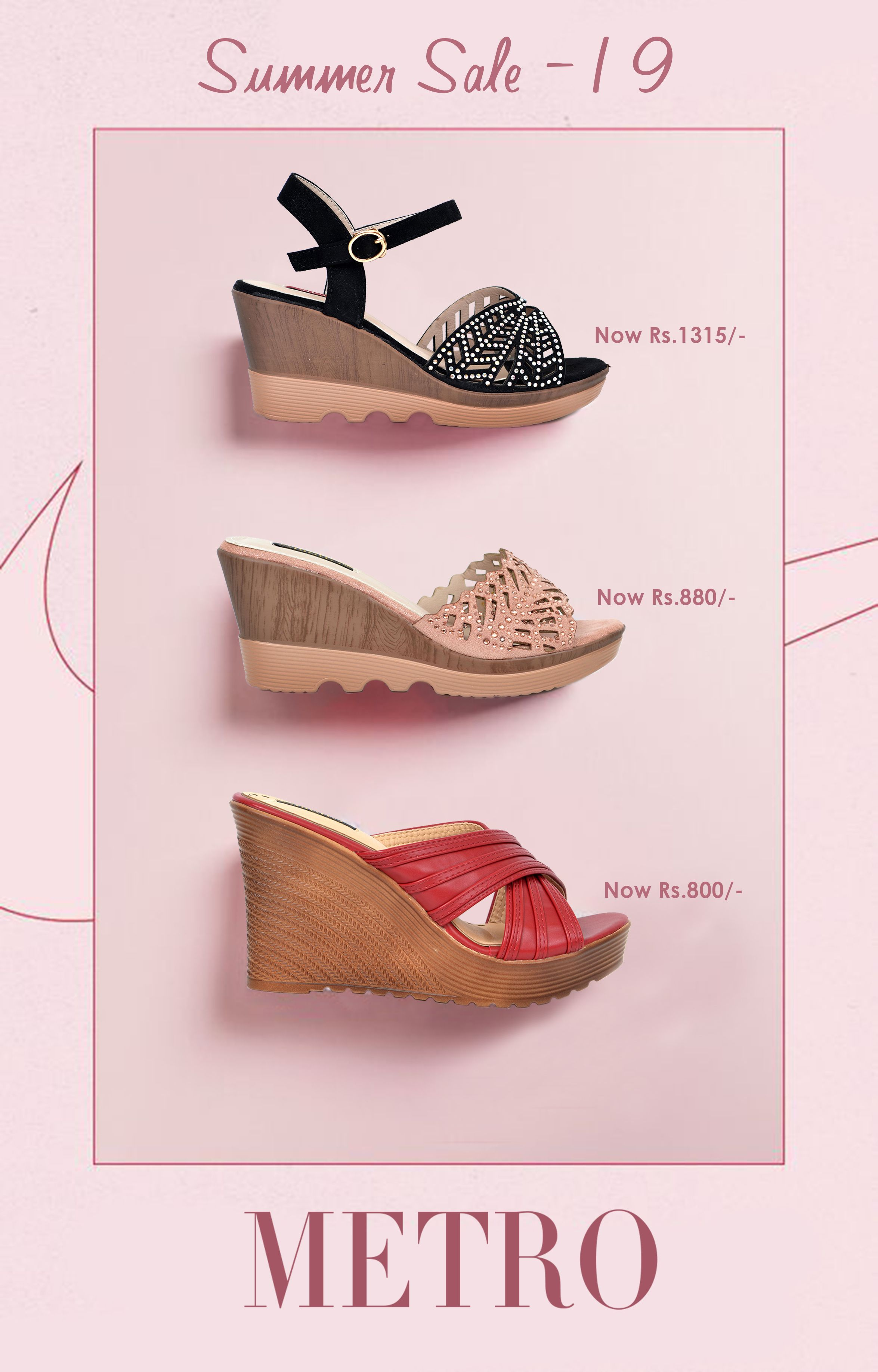 Pin on Metro Shoes Collection 2019