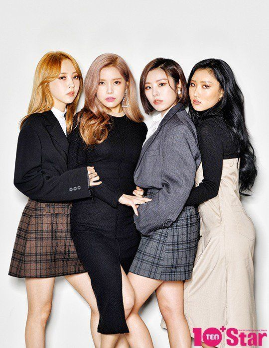 Living A Beautiful Life Mamamoo Are Fashionistas In 10 Star Allkpop Com Mamamoo Kpop Girls Moonbyul