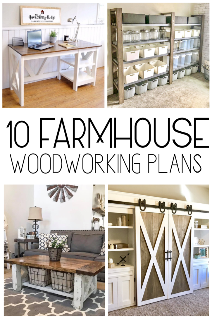 Photo of Check out these 10 free farmhouse woodworking plans for your home #woodworkingpl…
