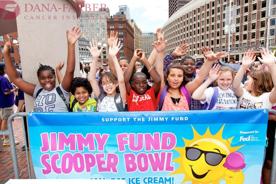 Kids Enjoying The 31st Annual Jimmy Fund Scooper Bowl Which Was Held June 4 6 2013 In Boston S City Hall Plaza Since Its In Jimmy Fund Fund Boston City Hall