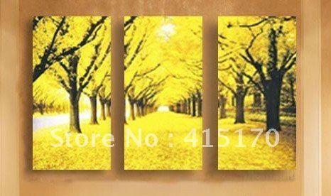 Old Fashioned Canvas Landscape Wall Art Festooning - Wall Art Design ...