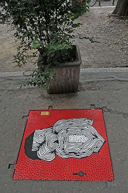 Tombini a Milano