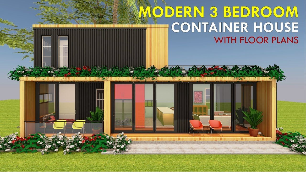 Modular Shipping Container 3 Bedroom Prefab Home Design