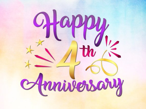 Happy 4th Anniversary Svg Files For Cricut Linen Wedding Forth Four Years Lett Happy 4th Anniversary Happy First Wedding Anniversary Wedding Anniversary Quotes