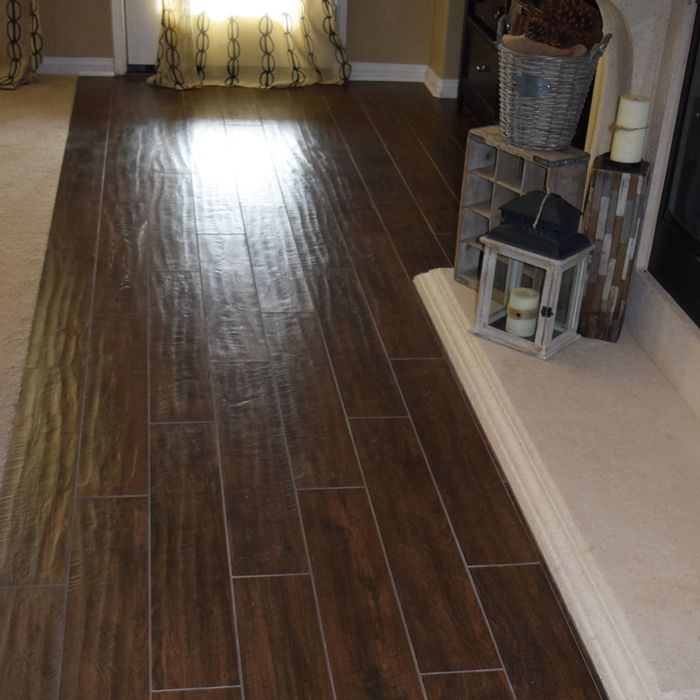 Tile · American Heritage Hand Scraped wood ... - American Heritage Hand Scraped Wood Look Tile Wood Look Tile