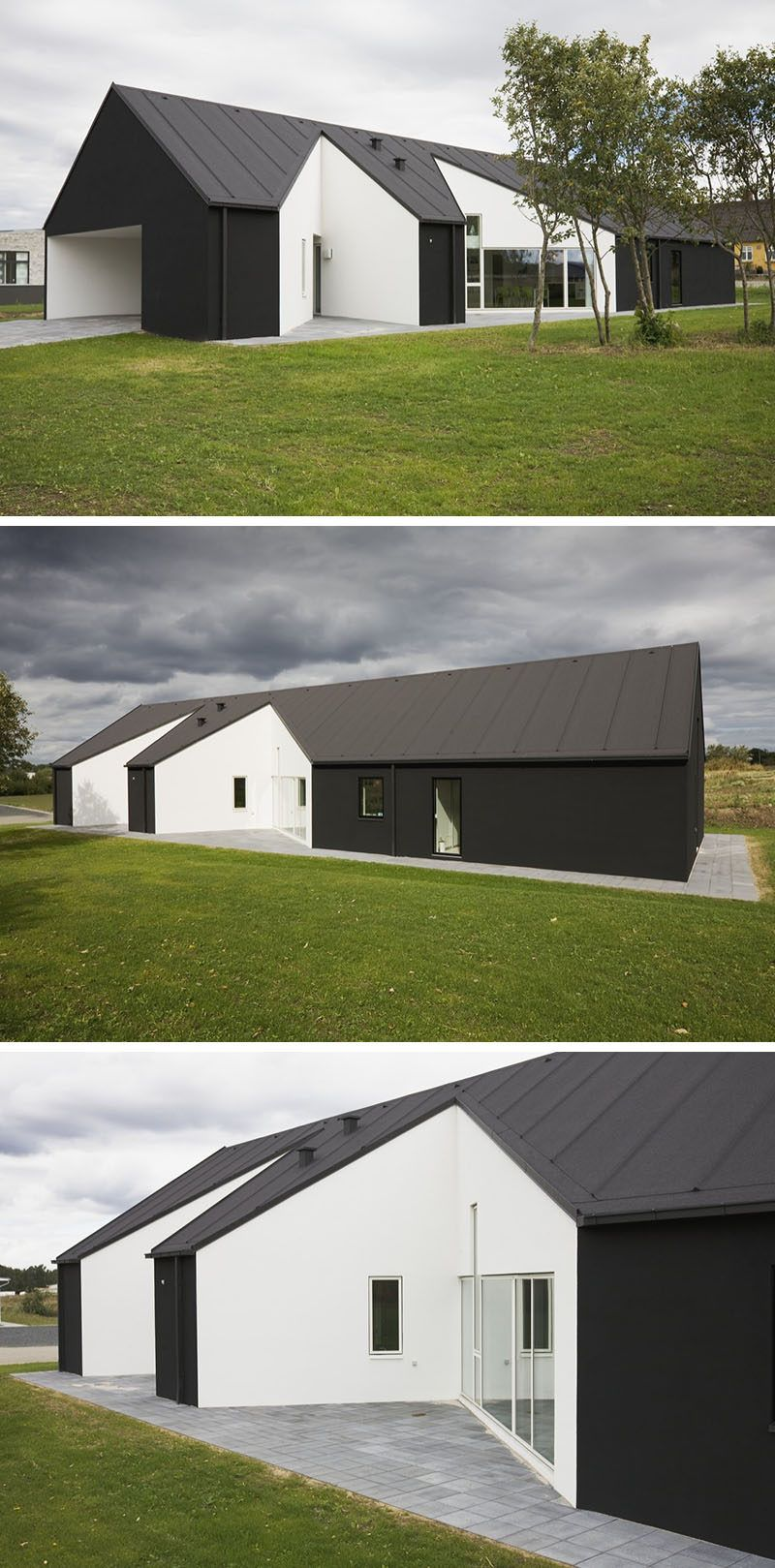 interesting exterior home house design | 19 Examples Of Modern Scandinavian House Designs | House ...