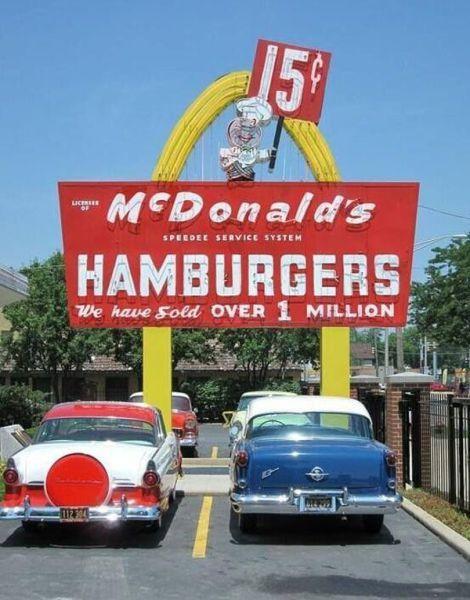 McDonald's vintage photograph