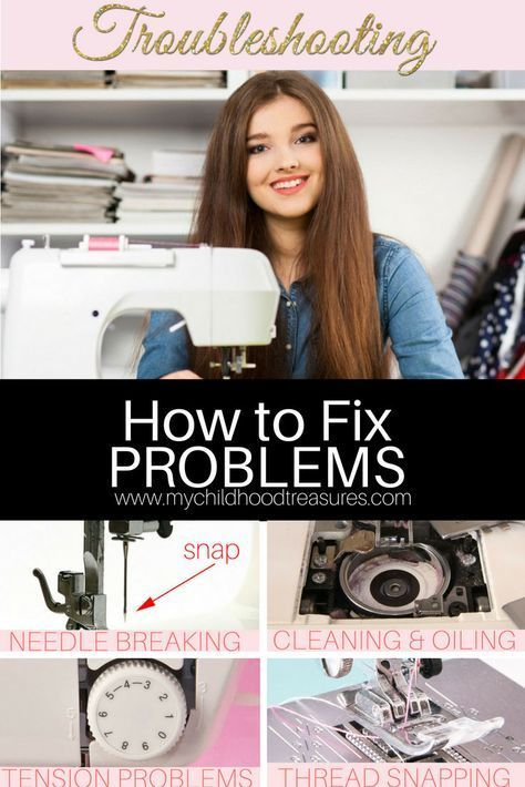 Sewing Machine Troubleshooting - Solve the Problem Fast | TREASURIE