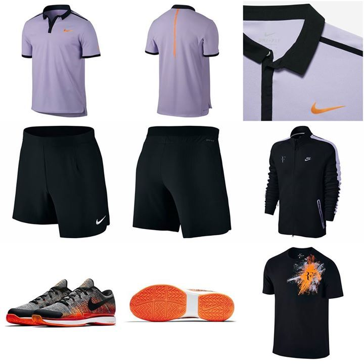Here Is Roger Federer S Outfit For Madrid And Rome This Year If Fed Sticks To The Plan Then The French Is His Only Clay Event So This Outfit Looks Like It Won