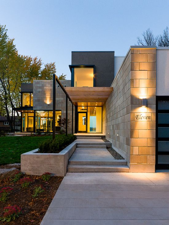 71 Contemporary Exterior Design Photos | Modern exterior, Exterior ...