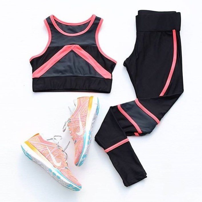 Nike free gym shoe | Pink workout clothes, Workout clothes