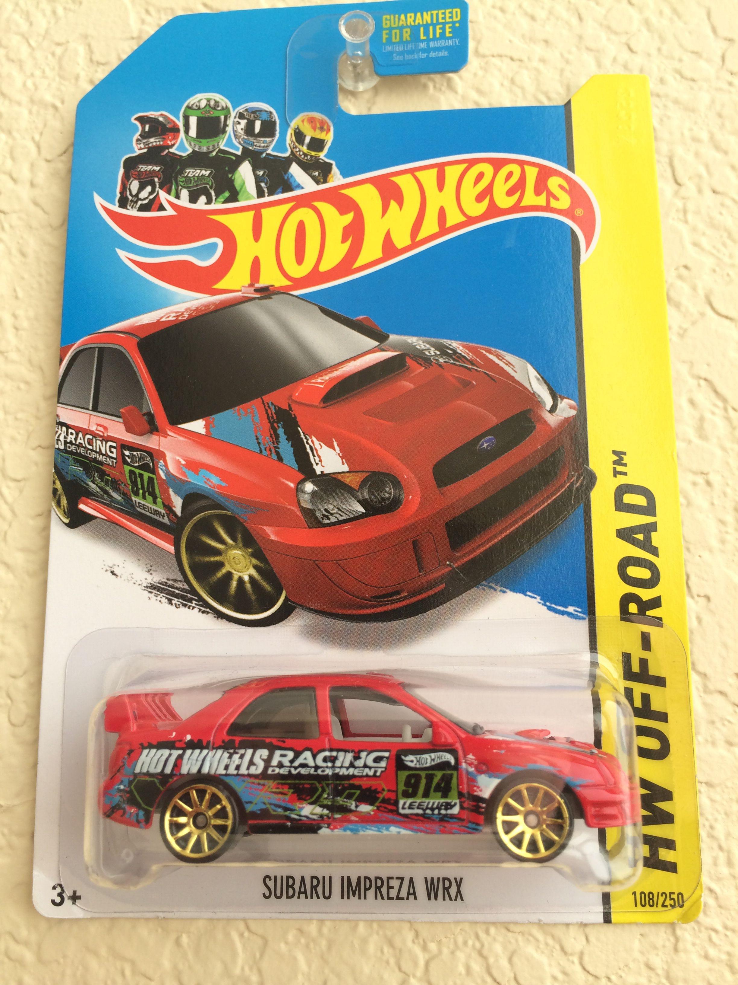 2007 Subaru Impreza Hot Wheels Hot Wheels Subaru Impreza Toy Car