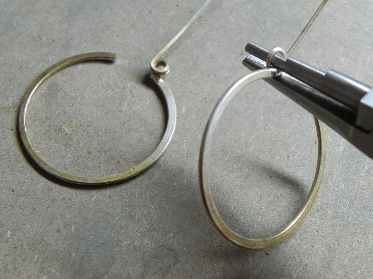 Gypsy Girl Hoop Spring Lever Back Ear Wire   Jewelry ideas