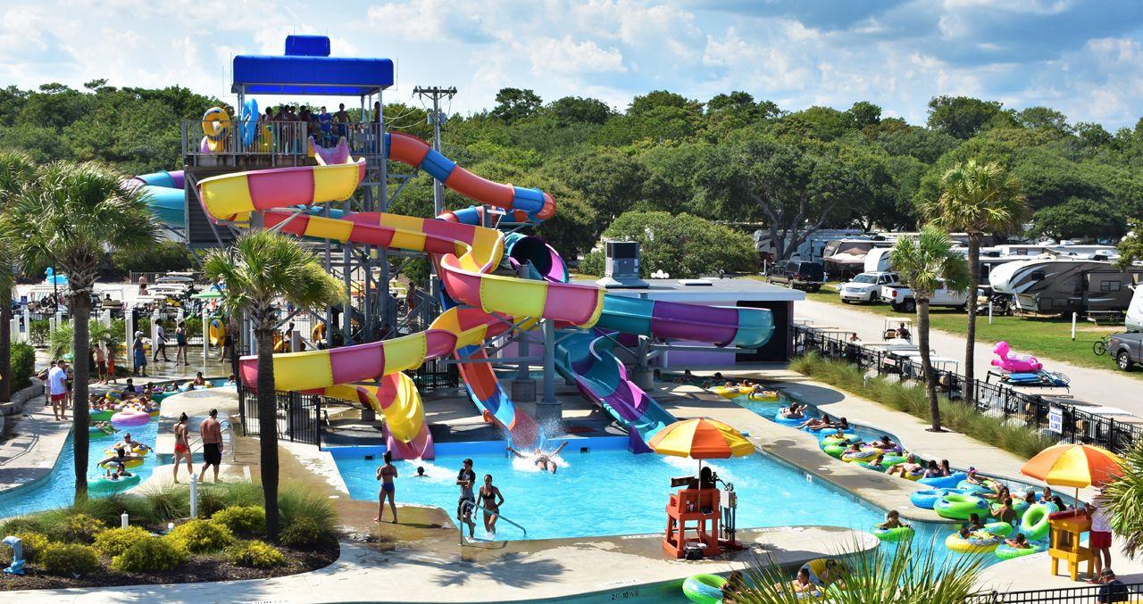 Lakewood Camping Resort Myrtle Beach SC water park
