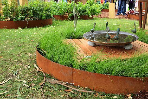 Image Result For Corten Steel Garden Edge Steel Garden 400 x 300