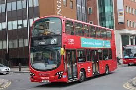 Image result for london bus route 183 | City | London bus