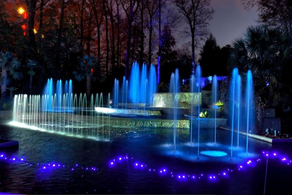 Holiday Light Shows at Botanical Gardens HGTV Holiday