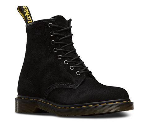 1460 Soft Buck | Boots, Dr martens 1460, Black