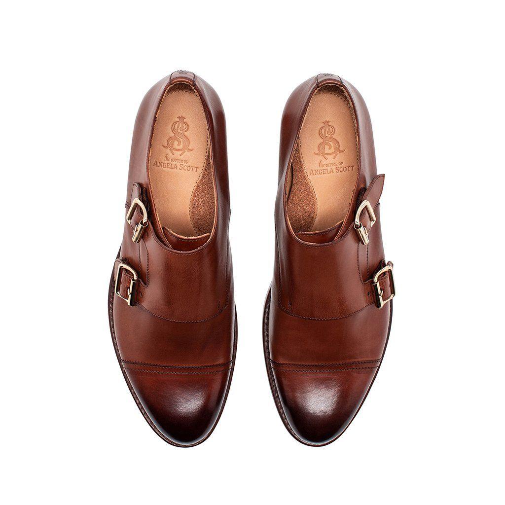 Mr. Colin Cognac Leather Women's