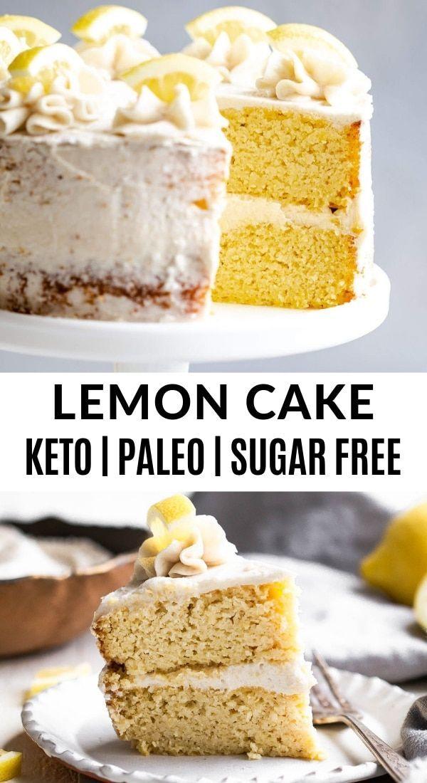Ich habe ein einfaches, zuckerfreies Zitronenkuchenrezept für dich und es ist gefüllt ...   - The Movement Menu Recipes -