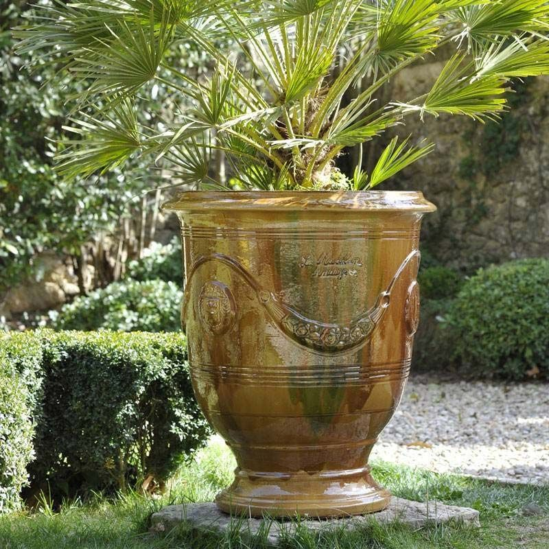 vase anduze traditionnel pot d 39 anduze pinterest garden ideas and gardens. Black Bedroom Furniture Sets. Home Design Ideas