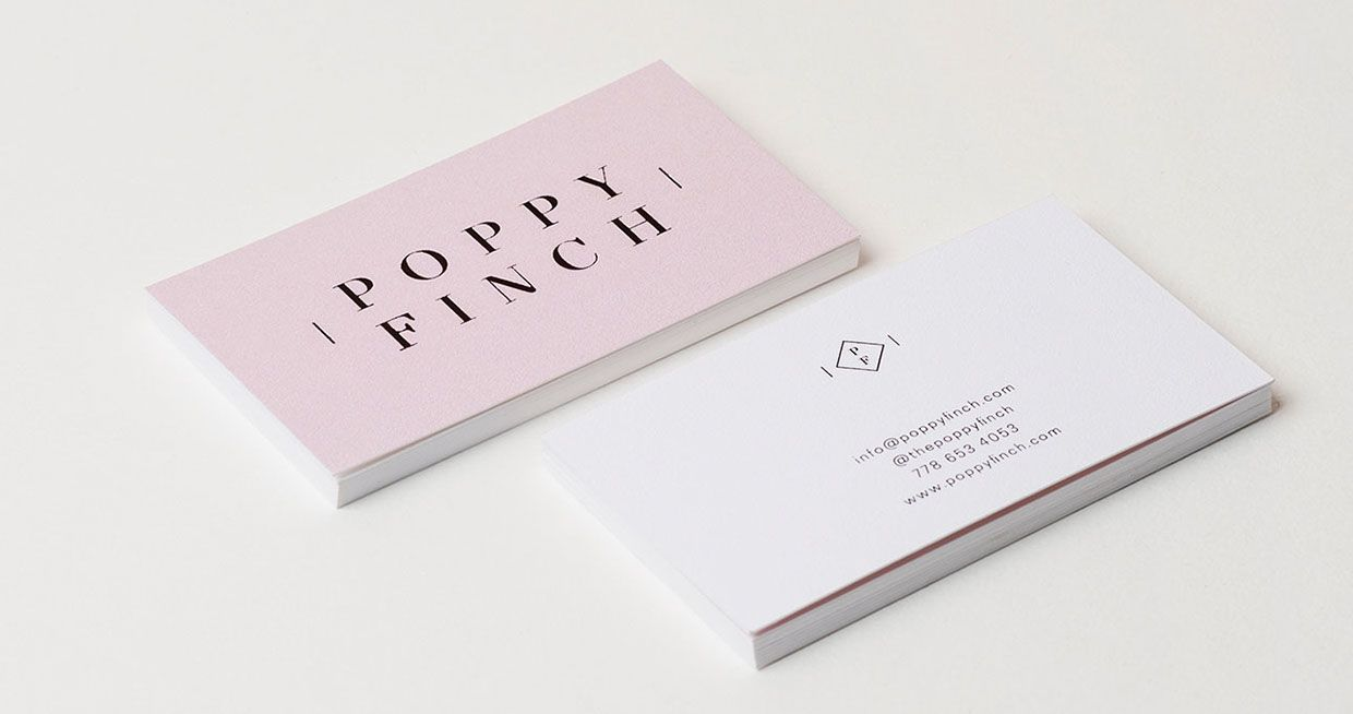 Image result for minimalist business cards   Business cards ...