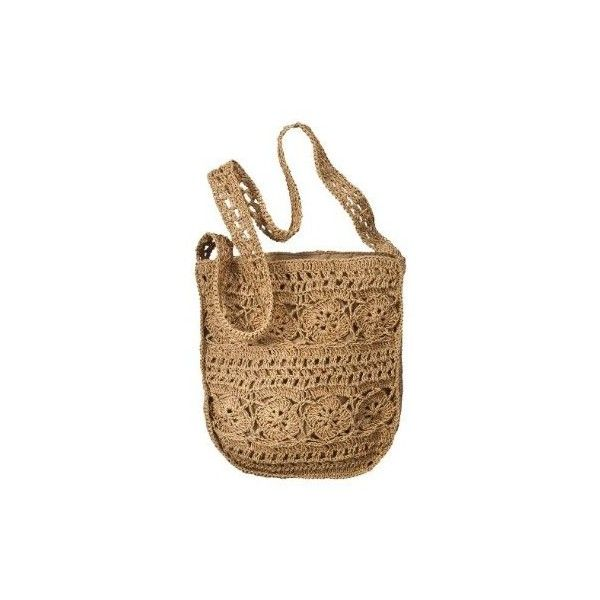 286e38821bbb Paper Crochet Bag - Natural   Target ( 15) ❤ liked on Polyvore featuring  bags