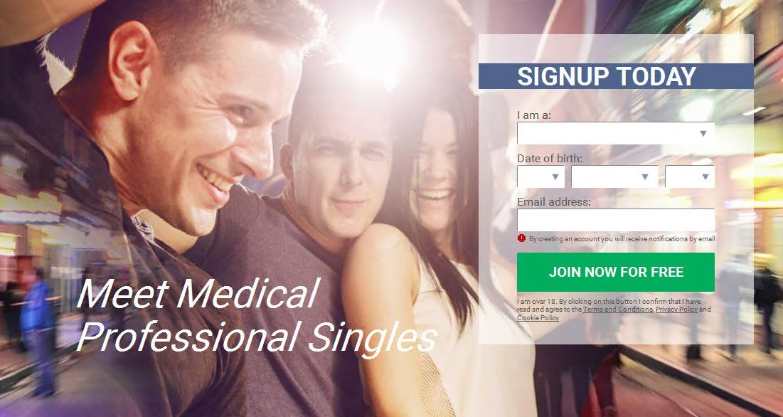 Medical professionals dating site