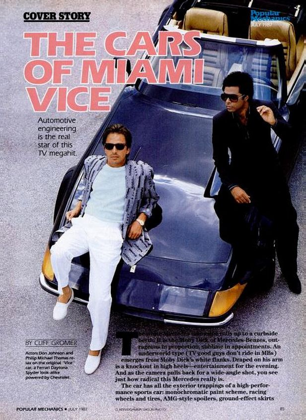 The Cars Were The Real Stars Of Miami Vice Miami Vice Miami Vice Theme Don Johnson