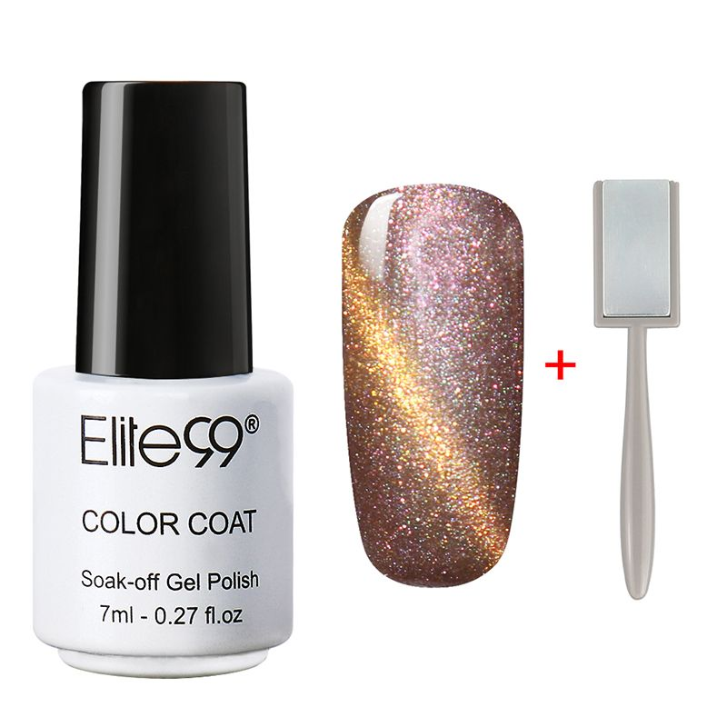 Elite99 Magnetic Cat Eye Gel Nail Gel Polish 7ml Cats\' Eye UV Nail ...