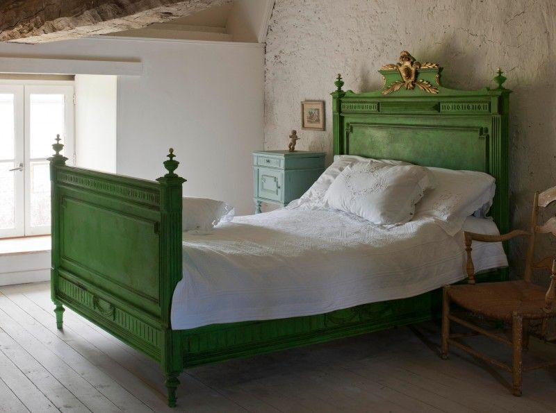 Painted Bedrooms Furniture Green Furniture Green Rooms