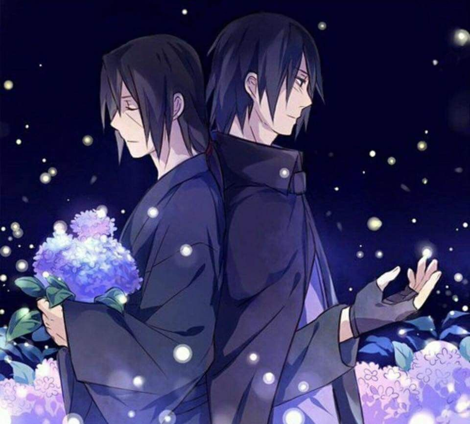 Itachi And Sasuke Uchiha Wallpaper #Beautiful #Sacrifice