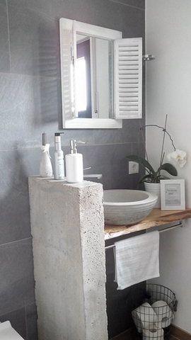 Die schönsten Badezimmer Ideen | Badezimmer, Tipps und Gäste wc