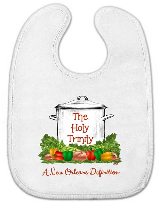 Baby All-in-One Bodysuit OR Bib New Orleans Graphics: Nola ...