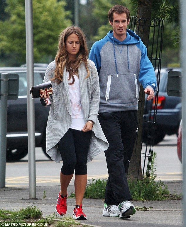 d89a31a257 Time off  Andy Murray is making the most of his time off now that Wimbledon  is over by spending it with girlfriend Kim Sears
