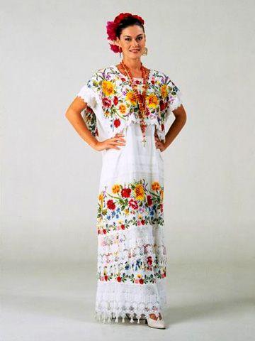 Traje Típico En 2019 Vestidos Tipicos Mexicanos Vestidos