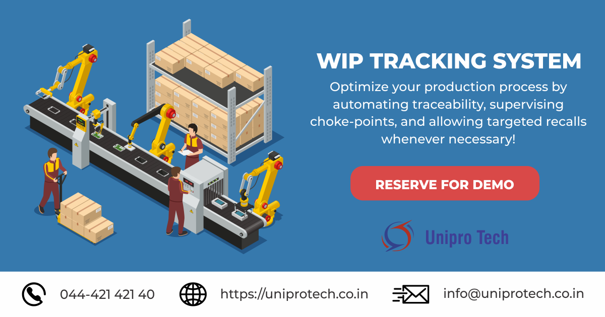 Wip Tracking Solution In 2021 Tracking System System Solutions