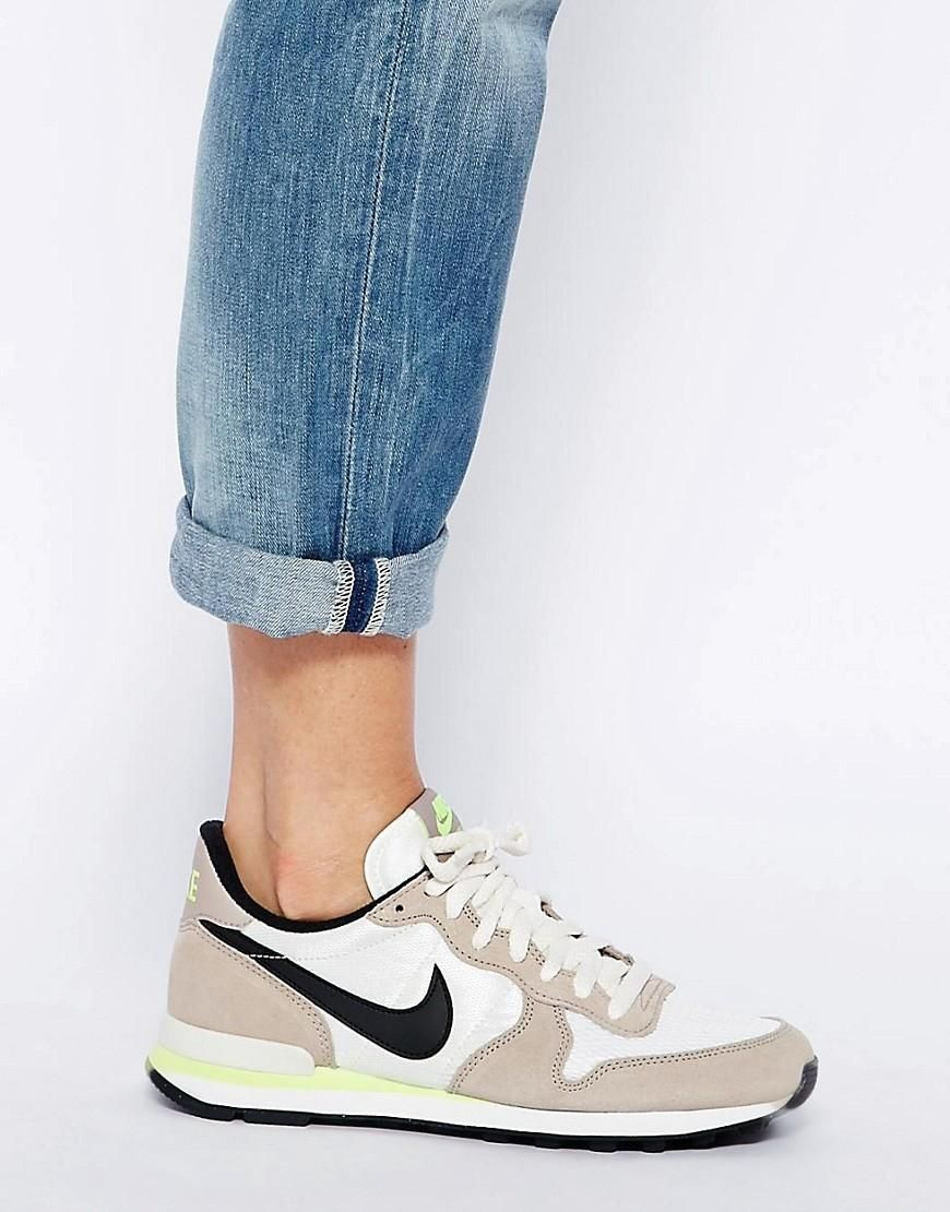 Nike | Nike Internationalist Baskets Grisnoir chez