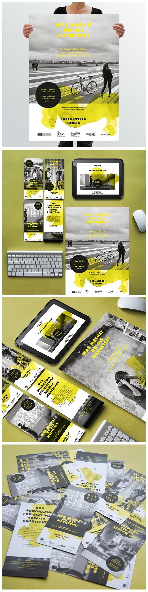 Ideenlotsen Berlin Corporate Design 2014 Projekte