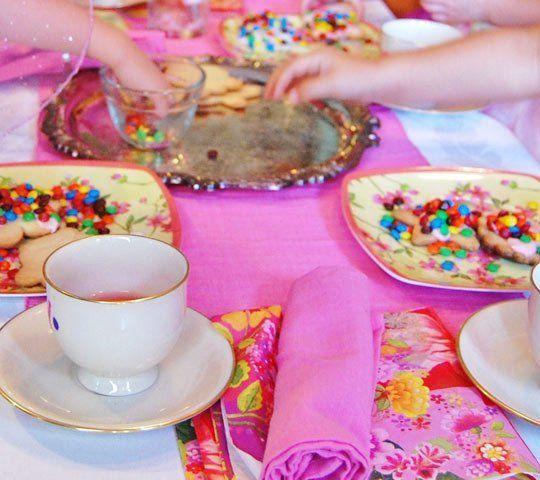 Best Kids Parties: Toddler Tea Party