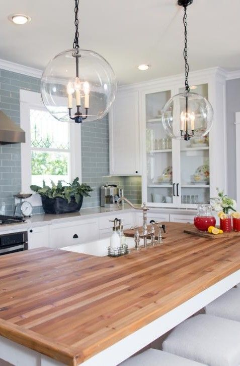 Scale Planter China Cabinet Kitchen HGTV Fixer Upper Texas-Sized House; Small Town Charm. Modern ...