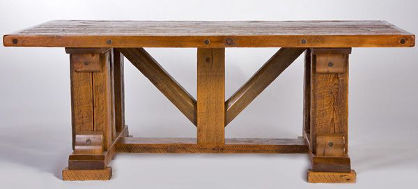 timber frames tables and dining tables on pinterest