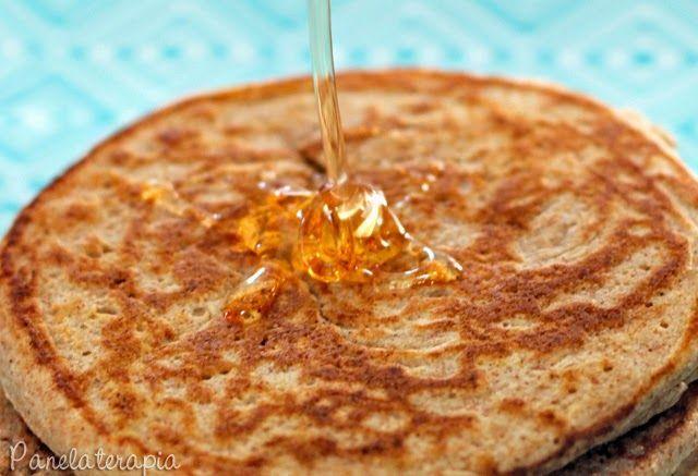 PANELATERAPIA - Blog de Culinária, Gastronomia e Receitas: Panqueca Integral Fofinha