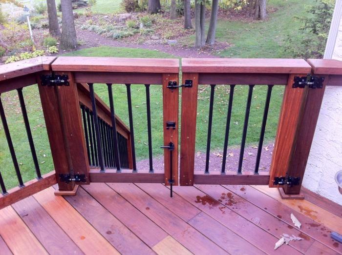 Deck Gates Google Search Deck Gate Decks And Porches Pool Gate