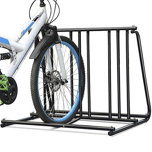 Hd Steel 1 6 Bikes Floor Mount Bicycle Park Storage Parking Rack Stand 2 3 4 5 See This Great Product Bicycle Parking Bicycle Steel Bike